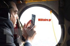 Chiến đấu cơ Thổ Nhĩ Kỳ 'quấy nhiễu' trực thăng chở Thủ tướng Hy Lạp