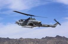 Rơi máy bay trực thăng, 2 phi công lính thủy đánh bộ Mỹ thiệt mạng