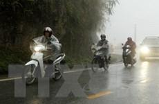 Không khí lạnh bắt đầu ảnh hưởng đến các tỉnh Bắc Bộ, có mưa nhiều nơi