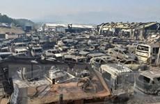 Tổng thống Hàn Quốc yêu cầu sử dụng mọi nguồn lực khống chế hỏa hoạn