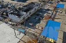 Trung Quốc đóng cửa khu công nghiệp hóa chất sau vụ nổ kinh hoàng