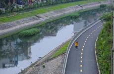 Nhật Bản dự kiến mang thiết bị đến làm sạch lòng sông Tô Lịch