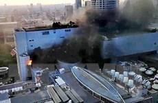 Hình ảnh về vụ hỏa hoạn làm 17 người thương vong tại Central World