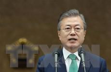 Tỷ lệ ủng hộ Tổng thống Hàn Quốc Moon Jae-in tăng trở lại