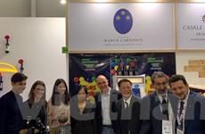 Doanh nghiệp Italy muốn đưa rượu vang sang thị trường Việt Nam