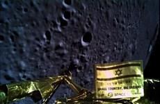 Tàu vũ trụ của Israel thất bại khi hạ cánh xuống Mặt Trăng