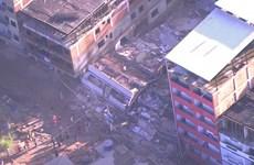 Sập nhà tại Brazil: Ít nhất 19 người thiệt mạng và mất tích