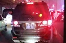 Lái xe biển xanh gây tai nạn rồi bỏ chạy thuộc cục cảnh sát kinh tế