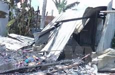 Bạc Liêu: Hỏa hoạn làm 5 căn nhà của người dân bị hư hỏng nặng