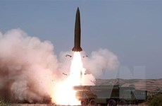 Quan chức quân sự Hàn-Mỹ thảo luận về vụ phóng tên lửa của Triều Tiên