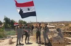 Chính phủ Syria giành lại thị trấn chiến lược ở khu vực Tây Bắc