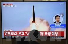 [Video] Triều Tiên lại phóng một số vật thể bay chưa xác định