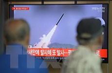 Phủ Tổng thống Hàn Quốc 'rất lo ngại' sau vụ Triều Tiên bắn tên lửa