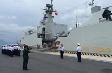 Tàu 016-Quang Trung kết thúc Diễn tập ADMM+ tại Singapore