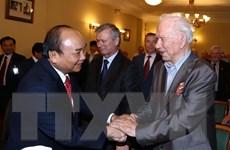 Thủ tướng Nguyễn Xuân Phúc gặp gỡ Hội hữu nghị Nga-Việt