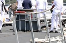 Hàn Quốc: Tai nạn tàu khu trục khiến sỹ quan hải quân thiệt mạng