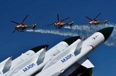 Ấn Độ phóng thử thành công tên lửa đất đối không Akash Mk1S