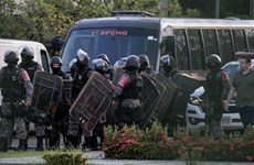 Gần 60 tù nhân thiệt mạng do bạo loạn nhà tù tại Brazil
