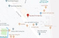 Nước cấp vào chung cư CT12 Văn Phú có đảm bảo chất lượng?