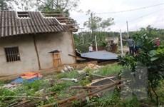 Yên Bái: Mưa lốc khiến 1 người chết, gần 50 ngôi nhà bị tốc mái