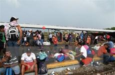 Mexico cân nhắc việc tăng cường biện pháp kìm hãm dòng người di cư