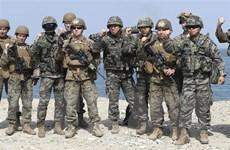 Mỹ chưa có ý định nối lại các cuộc tập trận chung lớn với Hàn Quốc