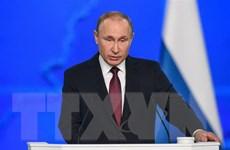 Ông Putin hy vọng tân Thủ tướng Anh mở trang mới trong quan hệ 2 nước