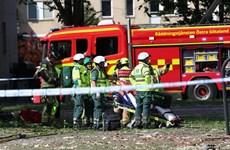 Nổ lớn làm hư hại nhiều tòa nhà ở Thụy Điển, 19 người bị thương