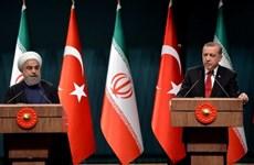 Iran và Thổ Nhĩ Kỳ quyết tâm thúc đẩy quan hệ và hợp tác