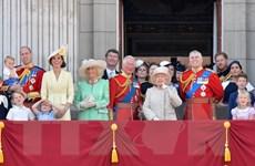 Hình ảnh lễ diễu hành mừng sinh nhật Nữ hoàng Elizabeth II