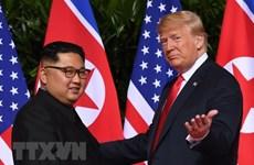 Triều Tiên phát hành tem đánh dấu 1 năm cuộc gặp thượng đỉnh Mỹ-Triều