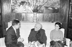 Nhìn lại các chuyến thăm của lãnh đạo Campuchia đến Việt Nam