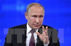 [Video] Tổng thống Nga Putin giao lưu trực tuyến với người dân