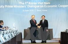 Việt-Hàn đạt nhiều thỏa thuận tại đối thoại kinh tế cấp Phó Thủ tướng