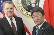 Mỹ-Nhật nhất trí thúc đẩy các cuộc đối thoại thương mại vào tháng tới