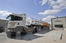 Israel cho phép vận chuyển nhiên liệu qua cửa khẩu vào Dải Gaza