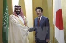 Thủ tướng Nhật Bản, Thái tử Saudi Arabia thảo luận về Trung Đông