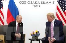 Tổng thống Mỹ Donald Trump đề nghị thúc đẩy đối thoại với Nga