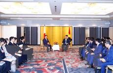 Thủ tướng Nguyễn Xuân Phúc tiếp lãnh đạo một số địa phương Nhật Bản