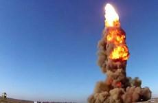 Bộ Quốc phòng Nga thử thành công tên lửa chống đạn đạo mới