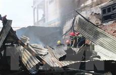 Kịp thời dập tắt đám cháy trong xưởng gỗ, cứu sống cụ bà 95 tuổi