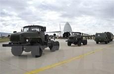 Máy bay Nga tiếp tục chở thiết bị hệ thống S-400 đến Thổ Nhĩ Kỳ