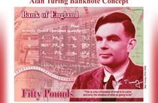 [Video] Tờ tiền 50 bảng mới của Anh in chân dung nhà toán học Turing