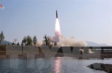 Hàn Quốc xác nhận vật thể bay Triều Tiên phóng thử hồi thàng 5