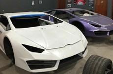 Brazil triệt phá xưởng ôtô giả thương hiệu Ferrari và Lamborghini