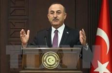 Ngoại trưởng Thổ Nhĩ Kỳ-Đức điện đàm về tình hình Đông Địa Trung Hải