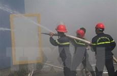 Hỏa hoạn làm sập toàn bộ 2 nhà xưởng của công ty may Makalot Việt Nam