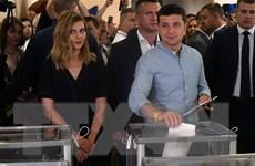Thăm dò sau bỏ phiếu tại Ukraine: Đảng cầm quyền thắng lớn