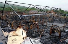 Cháy trại thiếu nhi ở Nga làm nhiều trẻ em thương vong
