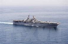 Iran quan sát và lưu trữ hình ảnh hoạt động của tất cả tàu Mỹ